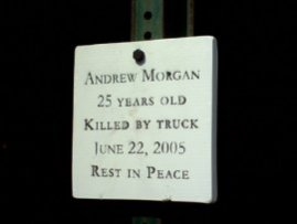 Andrew Morgan Plaque